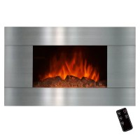 GoldenVantage Wall Mount Electric Fireplace & Reviews ...