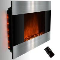 GoldenVantage Stainless Steel and Black Wall Mount ...