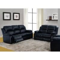 Beverly Fine Furniture Denver 2 Piece Bonded Leather ...