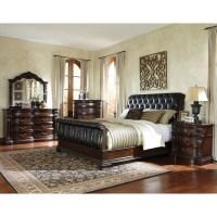 Standard Furniture Churchill Upholstered Sleigh Bed ...