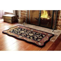 Plow & Hearth Scalloped McLean Hearth Rug & Reviews