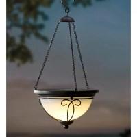 Plow & Hearth Solar 1 Light Outdoor Pendant & Reviews ...