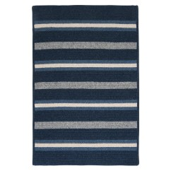 Striped Kitchen Rug Cabinet Latch Hardware Colonial Mills Salisbury Blue Area And Reviews