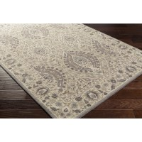 Bungalow Rose Hand-Tufted Charcoal/Taupe Area Rug   Wayfair