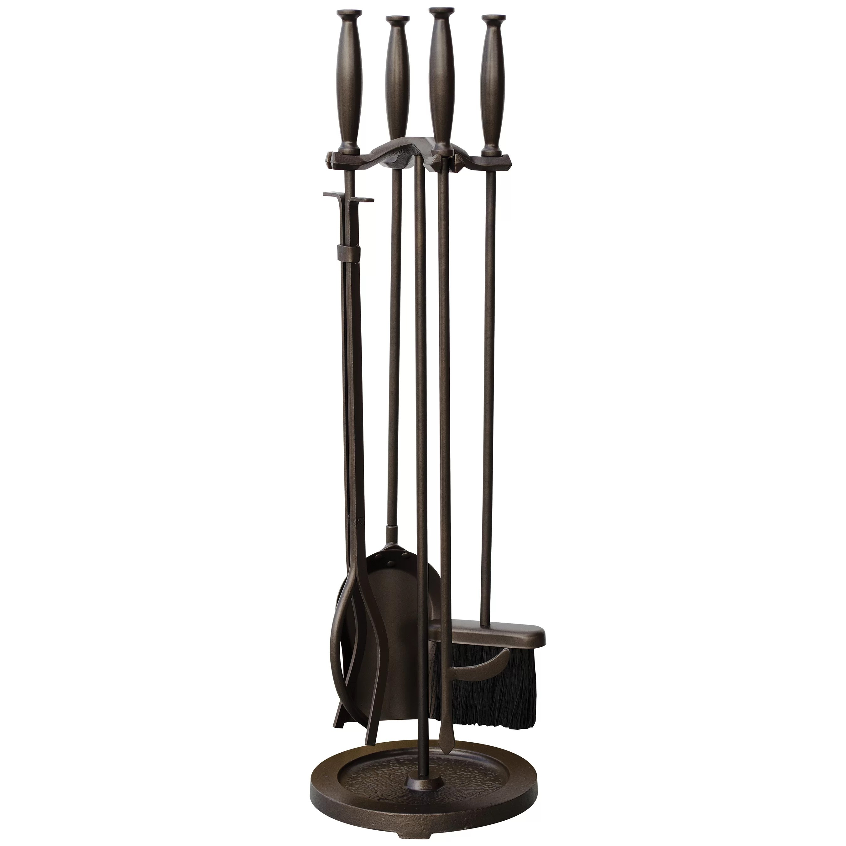 Uniflame 5 Piece Fireplace Tool Set  Reviews  Wayfair