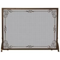 Uniflame Single Panel Fireplace Screen & Reviews | Wayfair