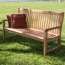 Douglas Nance Teak Garden Bench &