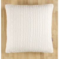 Brielle Cozy Cable Knit Throw Pillow & Reviews