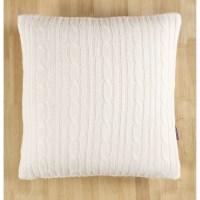 Brielle Cozy Cable Knit Throw Pillow & Reviews   Wayfair