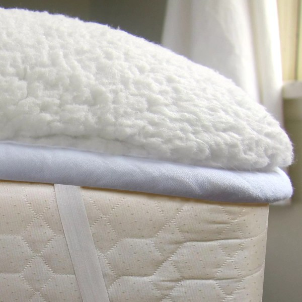 Sweet Home Collection Warm Ultra Plush Sherpa Mattress Pad ...