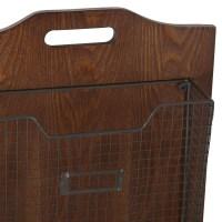 Mercury Row Wall-Mounted Storage Basket & Reviews | Wayfair