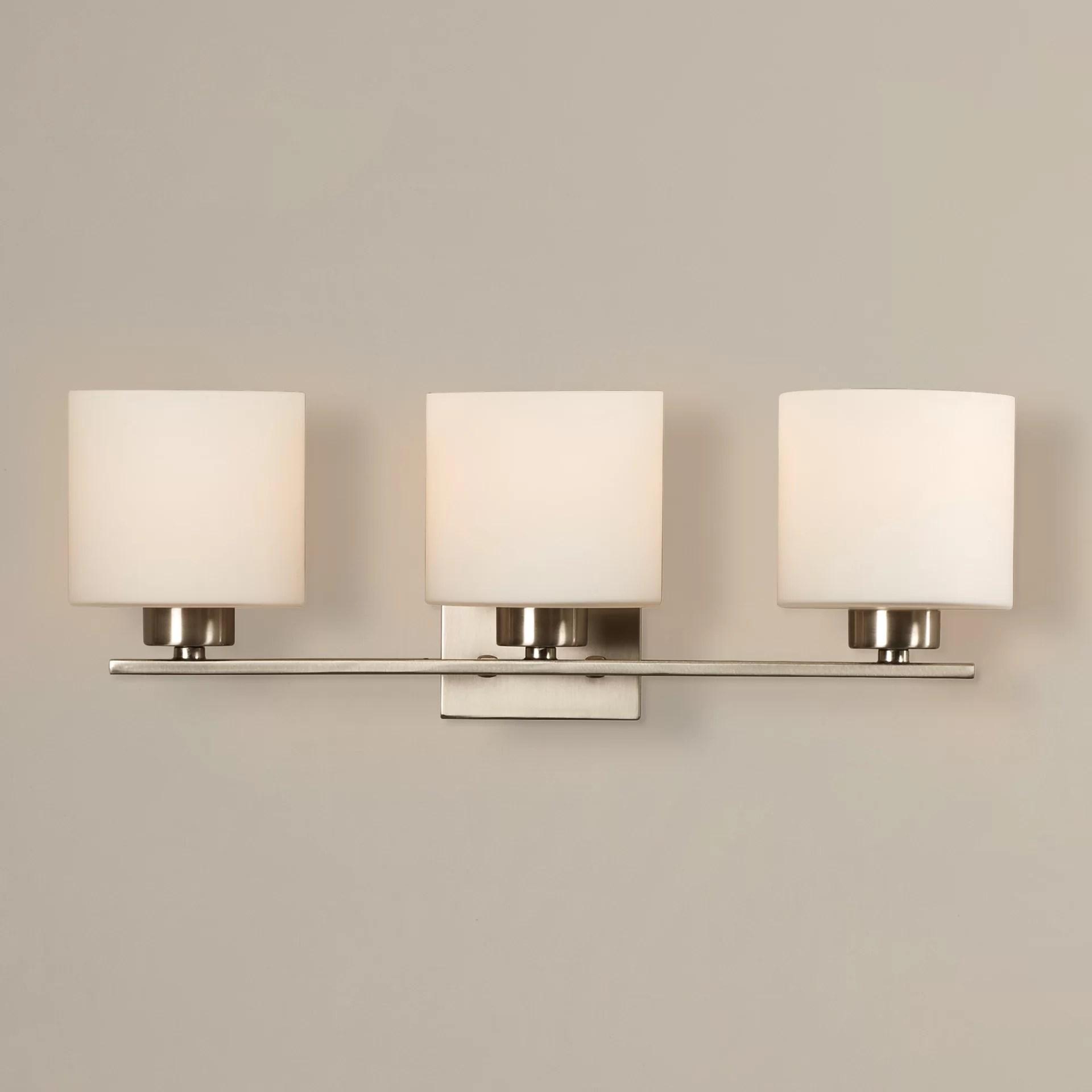 Mercury Row Odom 3 Light Bath Vanity Light  Reviews  Wayfair