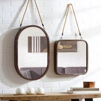 Mercury Row Hanging Rope Wall Mirror & Reviews | Wayfair
