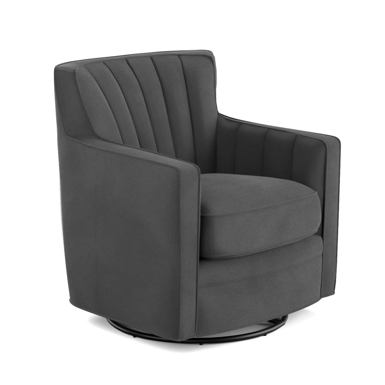 swivel arm chairs camp chair with table mercury row bleadon and reviews wayfair