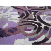Foreign Accents Legends Hand-Tufted Purple Area Rug   Wayfair