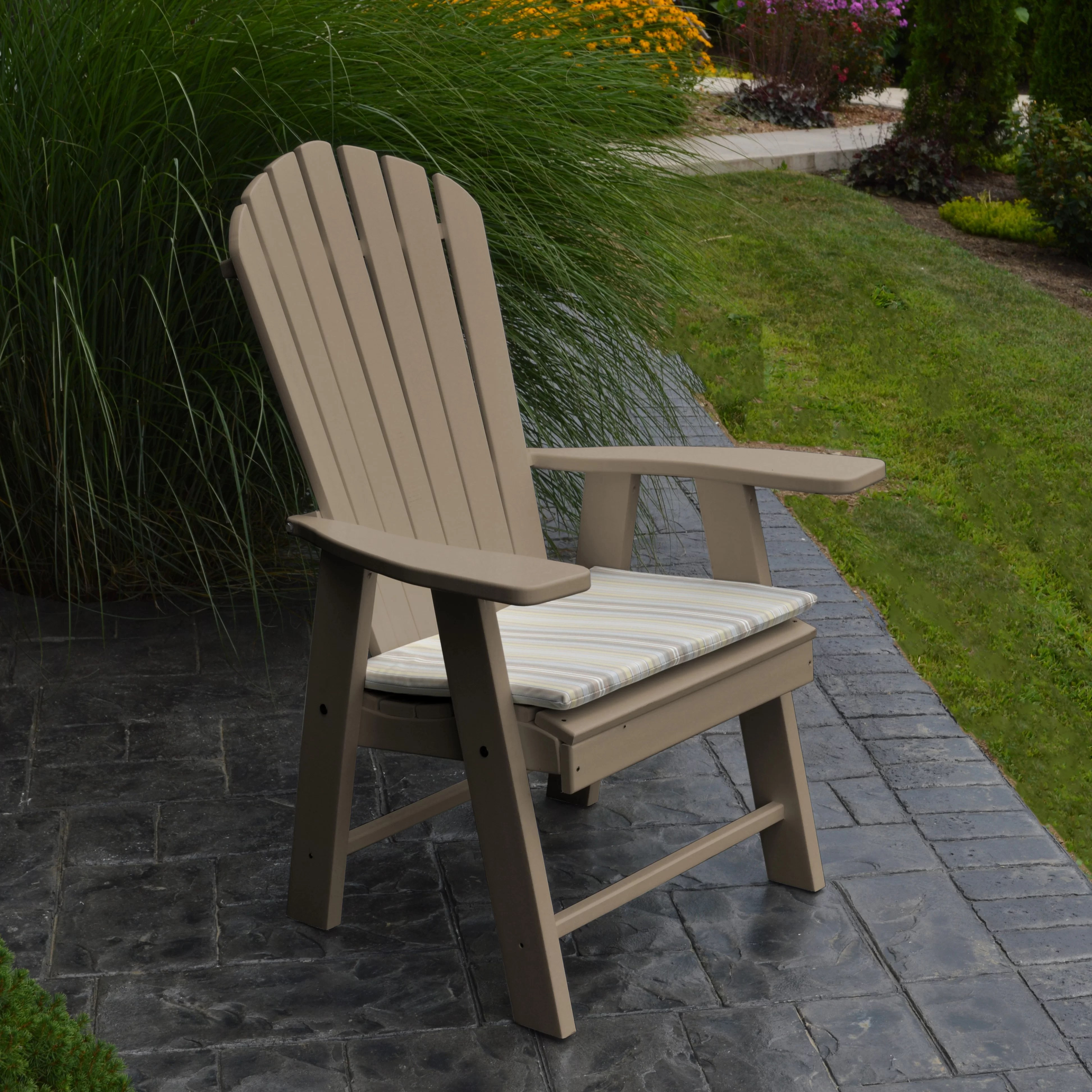 upright recliner chairs conference table with casters a andl furniture adirondack chair and reviews wayfair