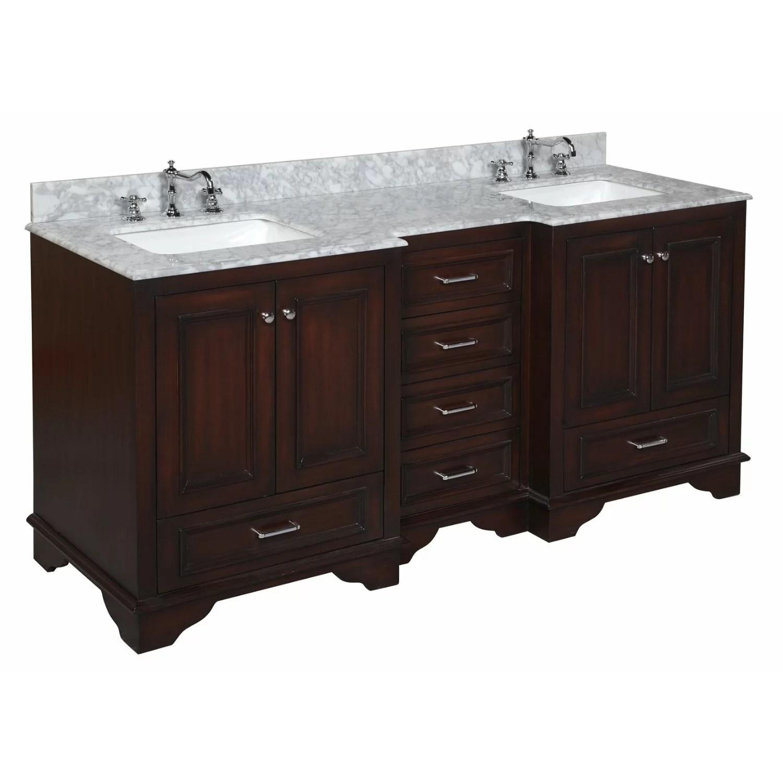 KBC Nantucket 72 Double Bathroom Vanity Set  Reviews