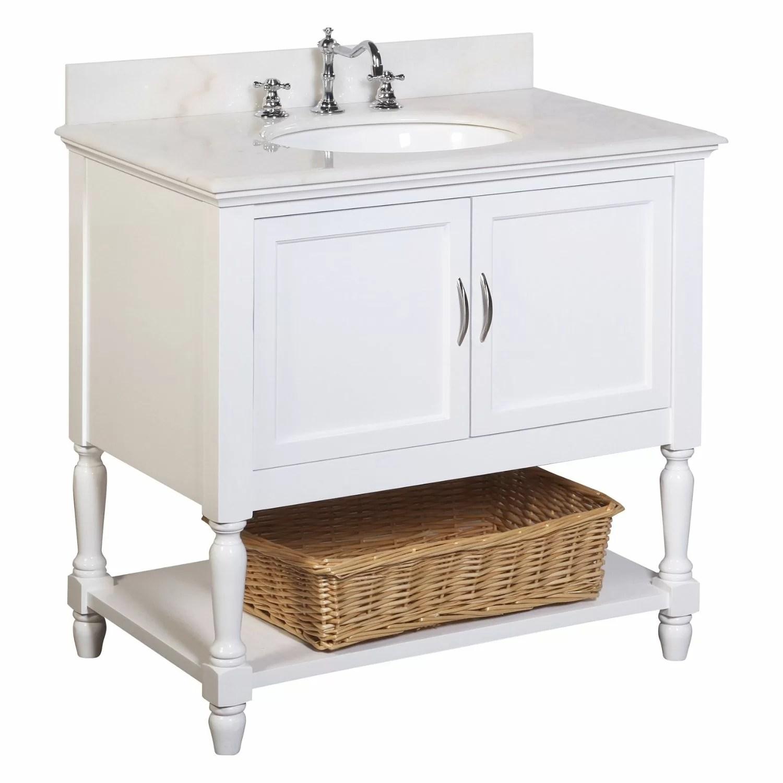 KBC Beverly 36 Single Bathroom Vanity Set  Reviews  Wayfair