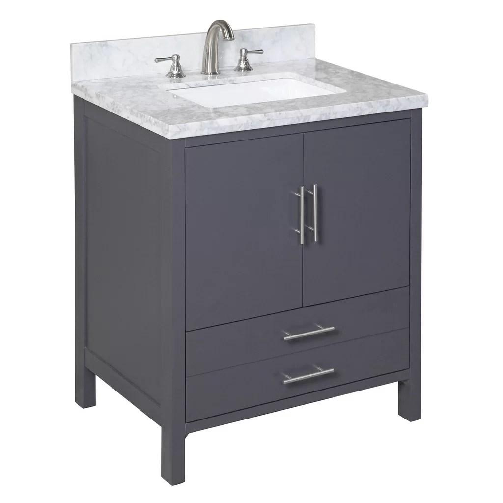 KBC California 30 Single Bathroom Vanity Set  Reviews  Wayfair