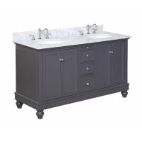 "KBC Bella 60"" Double Bathroom Vanity Set & Reviews 