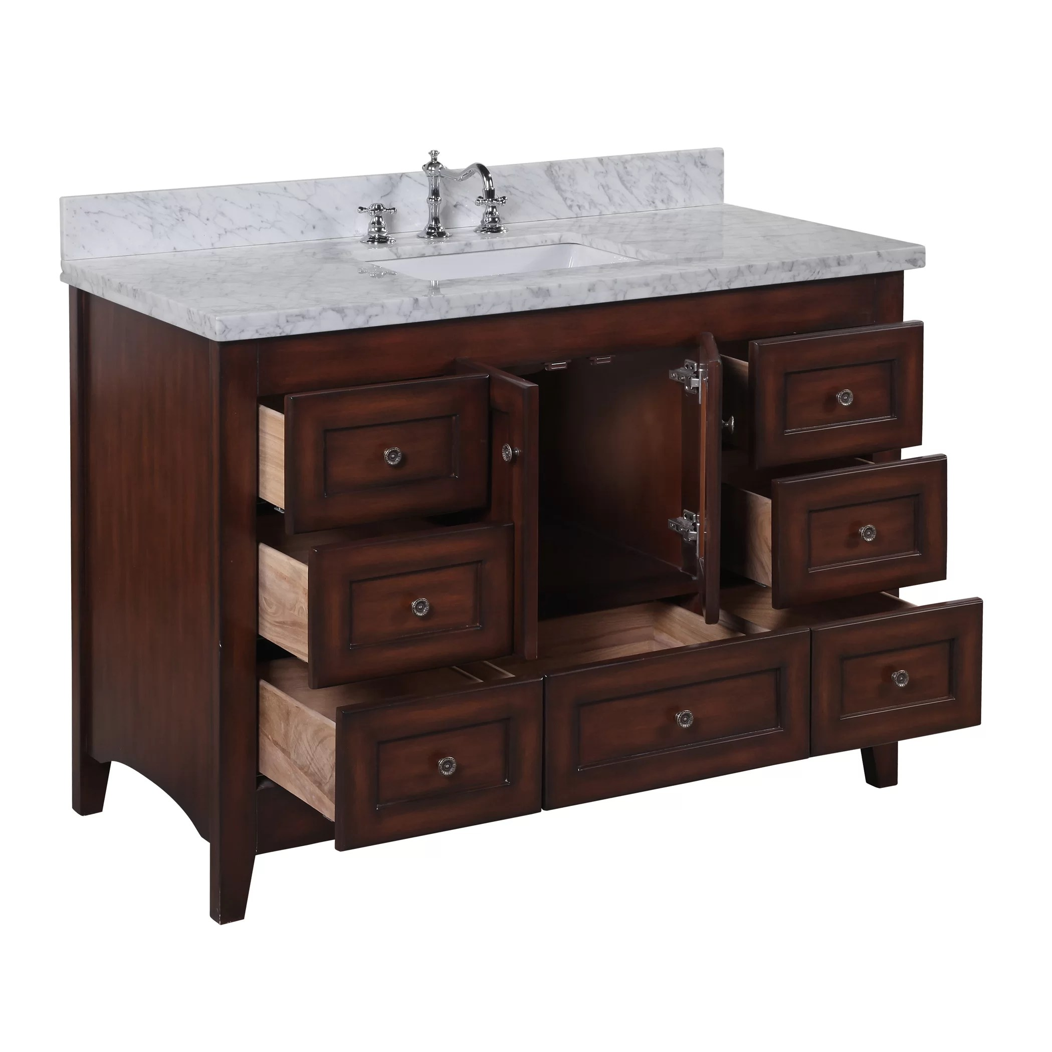 KBC Abbey 48 Single Bathroom Vanity Set  Reviews  Wayfair