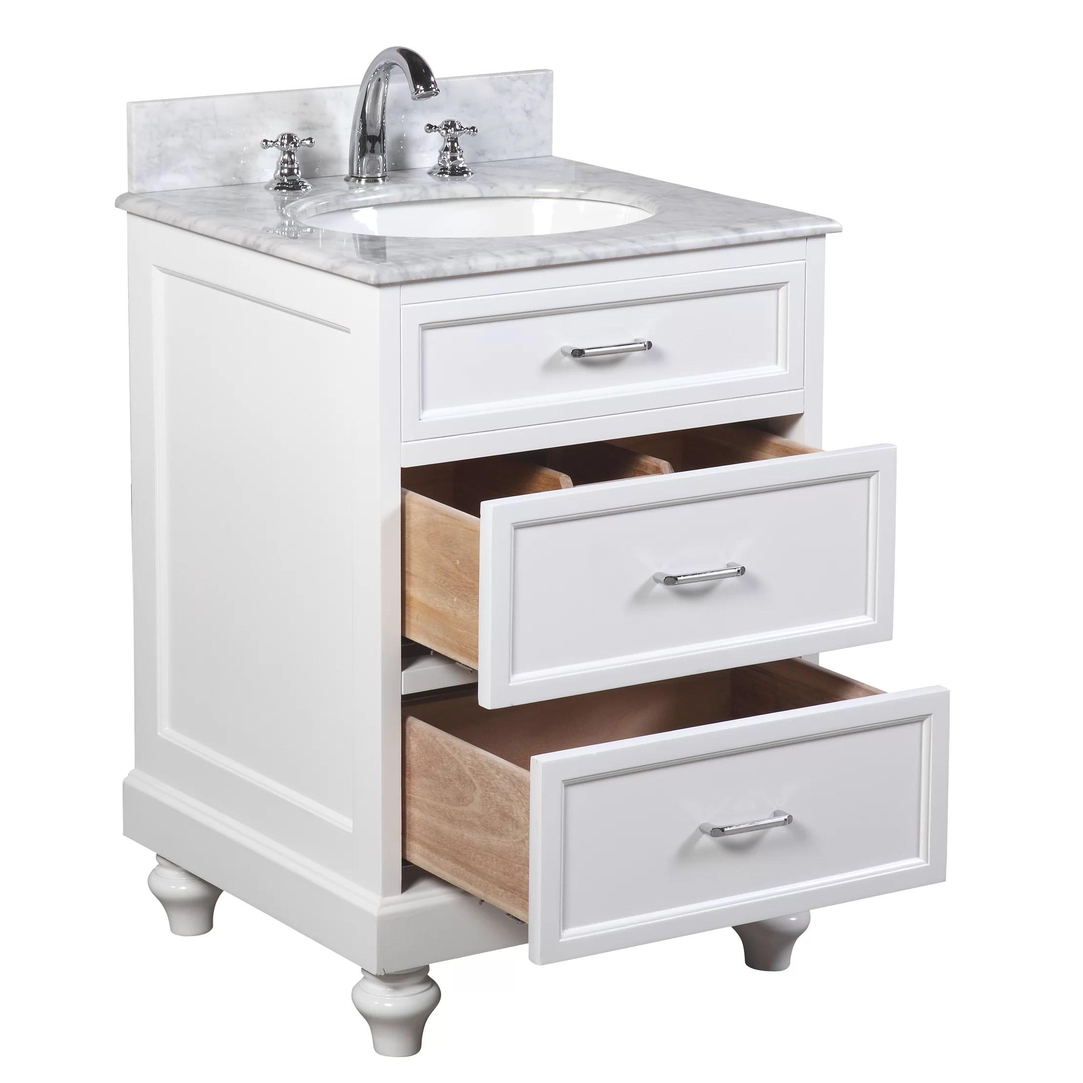 KBC Amelia 24 Single Bathroom Vanity Set  Reviews  Wayfair