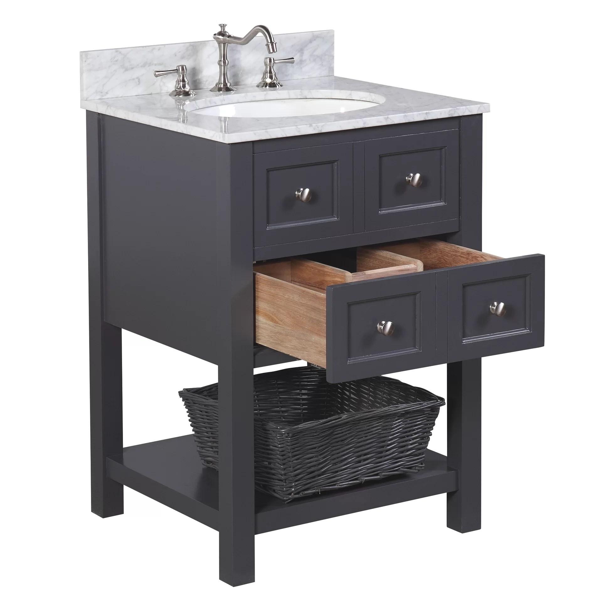 KBC New Yorker 24 Single Bathroom Vanity Set  Reviews