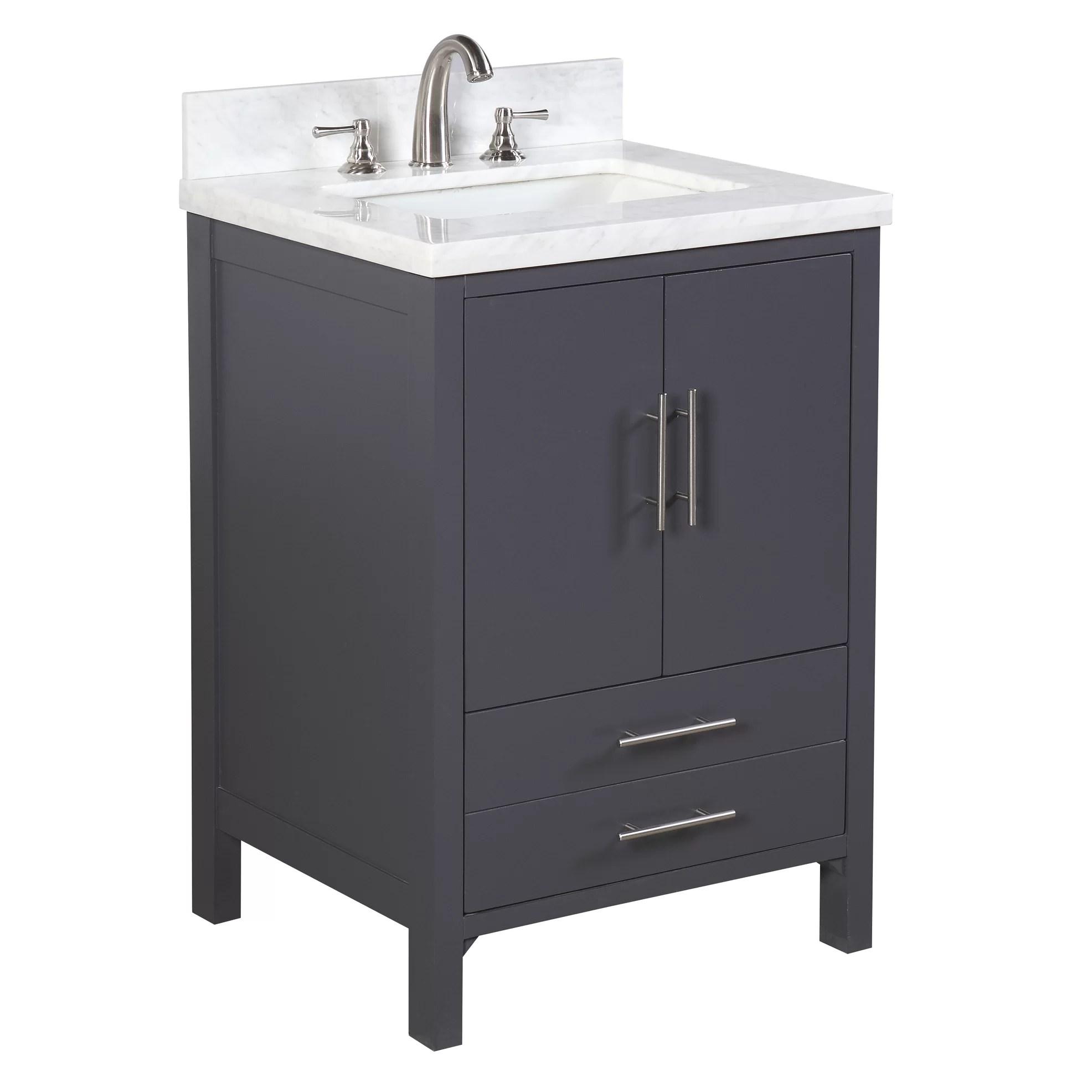 KBC California 24 Single Bathroom Vanity Set  Reviews