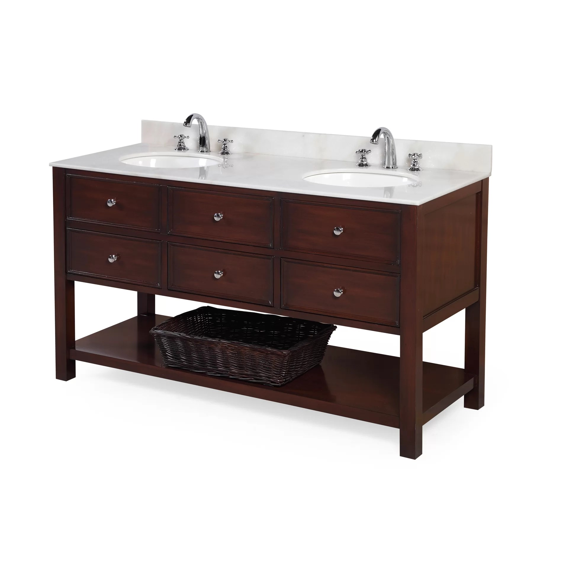 KBC New Yorker 60 Double Bathroom Vanity Set  Reviews