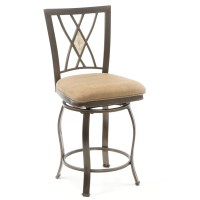 "Red Barrel Studio Boundary Bay 24"" Swivel Bar Stool"