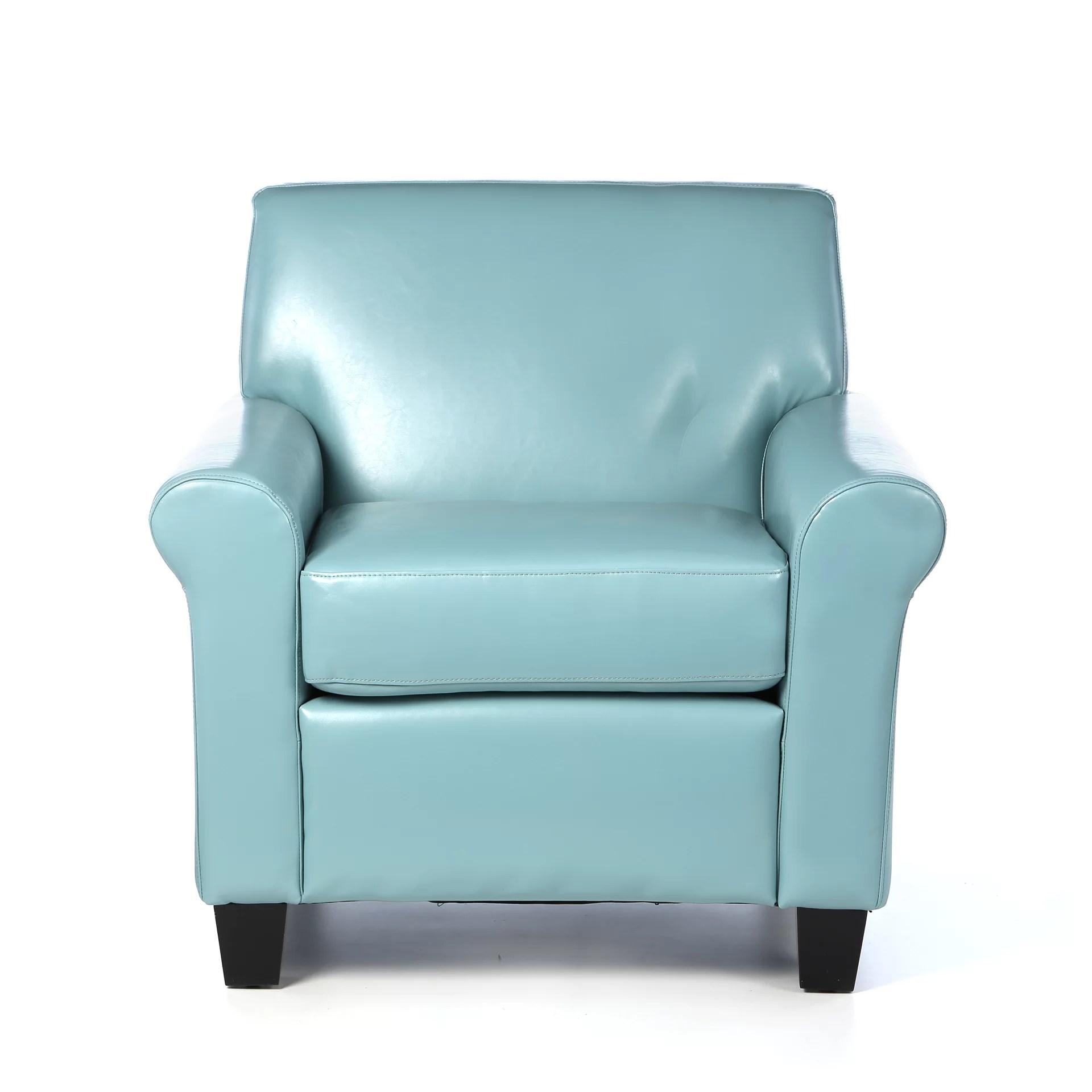 Red Barrel Studio Biloxi Faux Leather Club Chair  Reviews
