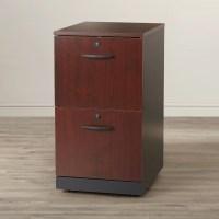 Red Barrel Studio Alchemist 2 Drawer Filing Cabinet ...
