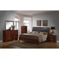Red Barrel Studio Plumcreek Panel 5 Piece Bedroom Set