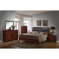 Red Barrel Studio Plumcreek Panel 5 Piece Bedroom Set ...