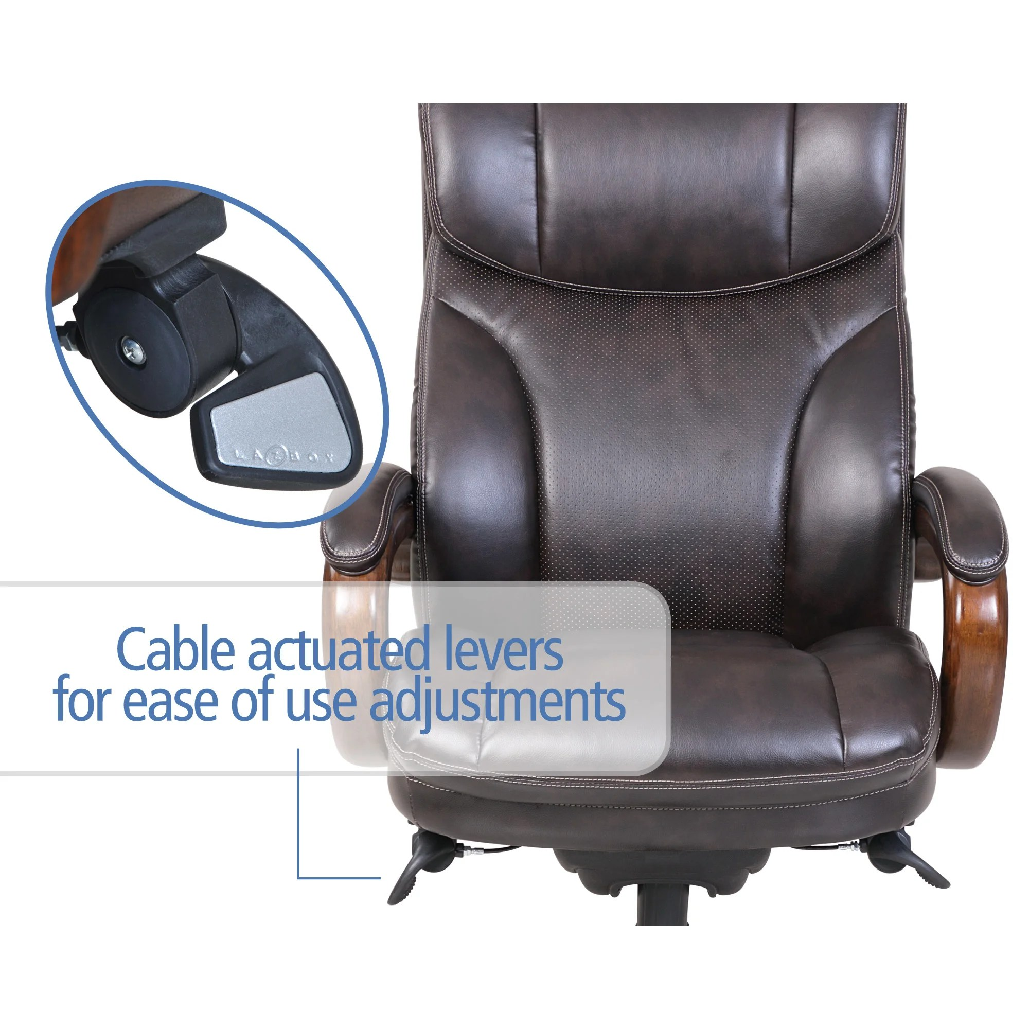 la z boy trafford big and tall executive office chair vino amazon chairs high back