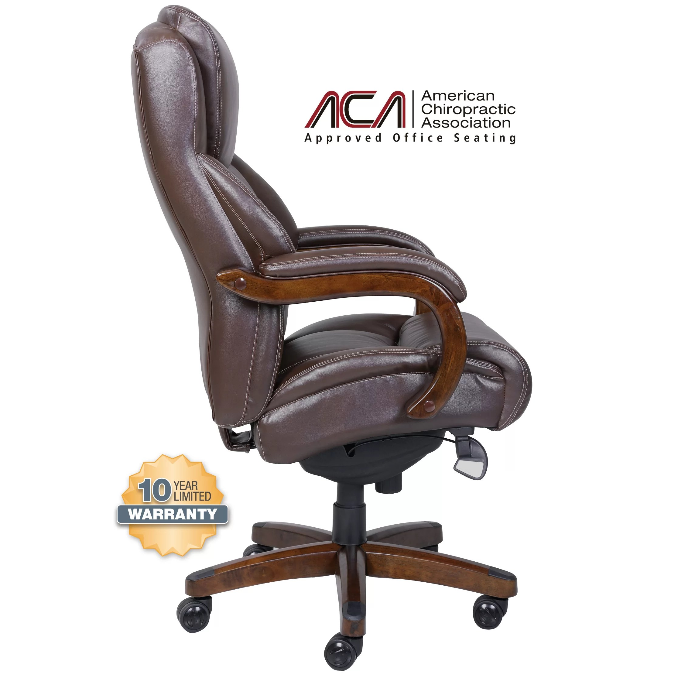 la z boy martin big and tall executive office chair reviews leather wing back delano high
