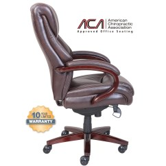 La Z Boy Office Chair Replacement Parts Wegner Wishbone Bellamy High Back Executive