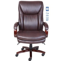 La Z Boy Delano Big Tall Executive Bonded Leather Office Chair Gliding Chairs For Nursery Edmonton High Back
