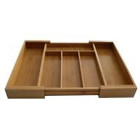 Axis International Bamboo Expandable Drawer Organizer ...