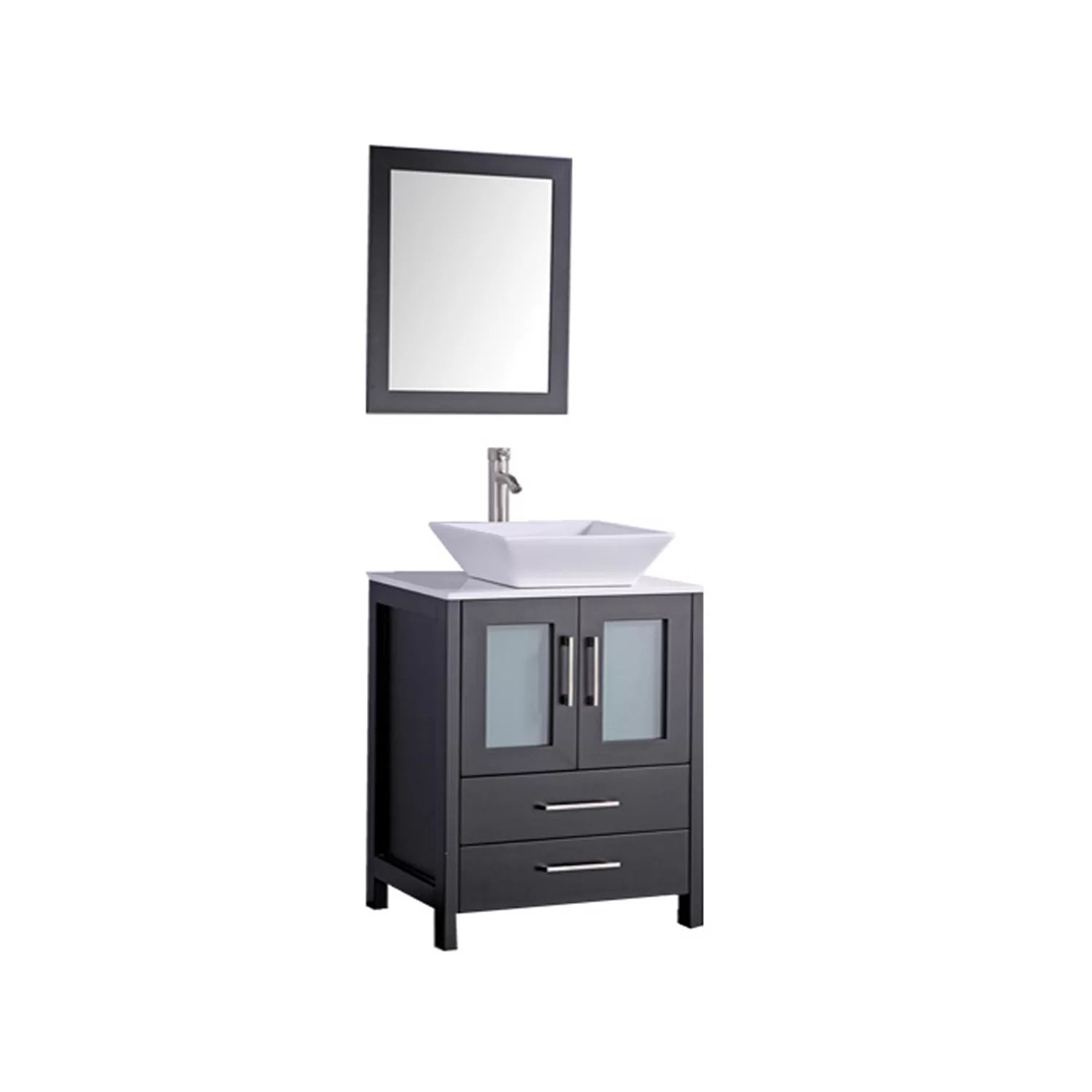 MTDVanities Jordan 30 Single Sink Bathroom Vanity Set