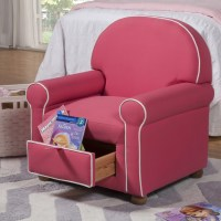 HomePop Kids Club Chair with Storage Compartment & Reviews ...
