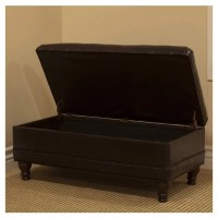 HomePop Deluxe Tufted Bedroom Storage Ottoman & Reviews