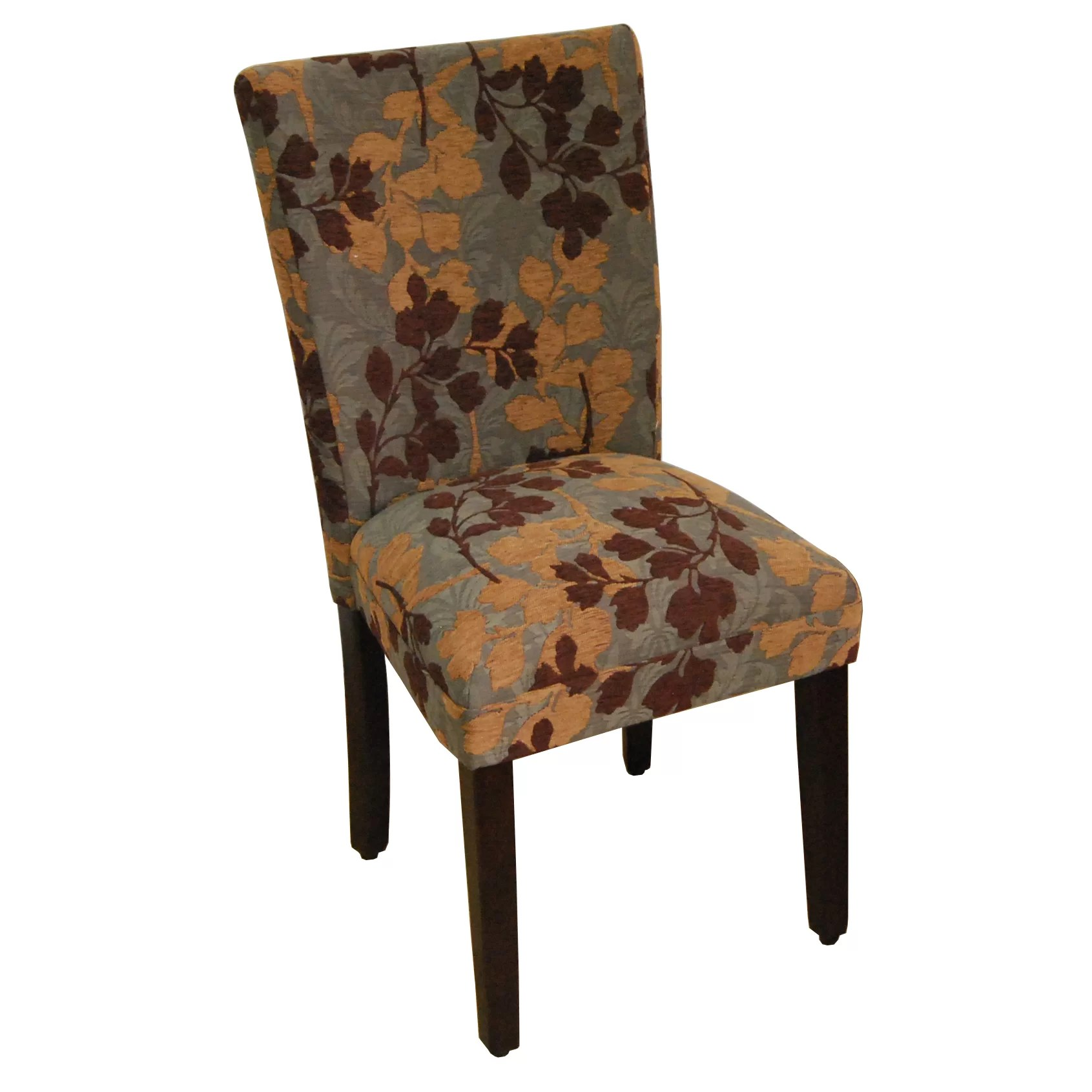 Upholstered Kitchen Chairs Homepop Kinfine Classic Upholstered Parsons Chair