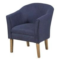 HomePop Upholstered Barrel Chair & Reviews | Wayfair
