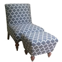 Accent Chairs With Ottoman Plastic Stool Chair Design Homepop Slipper And Reviews Wayfair