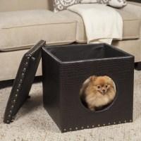 HomePop Pet Bed Ottoman & Reviews   Wayfair