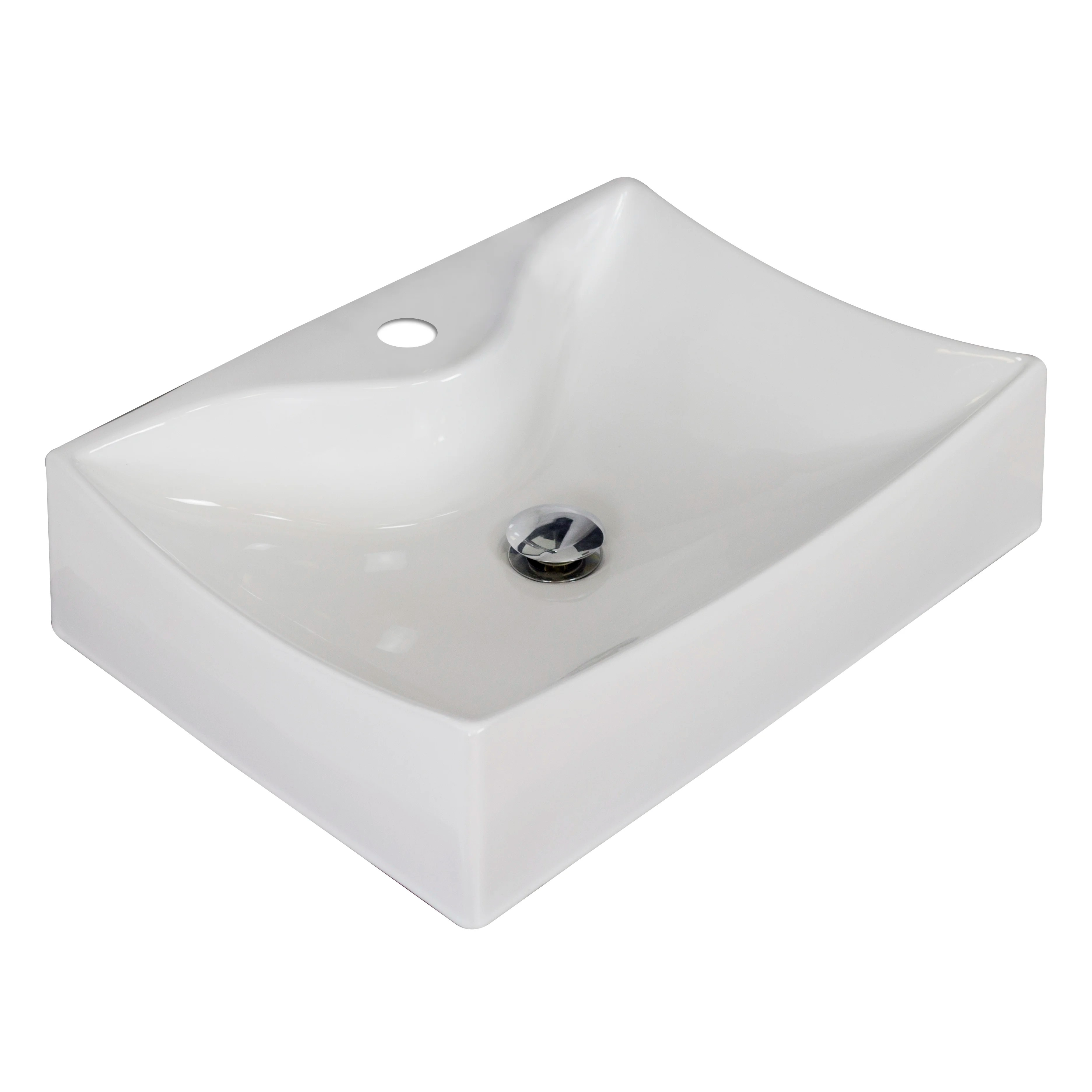 American Imaginations Rectangle Vessel Sink  Wayfair