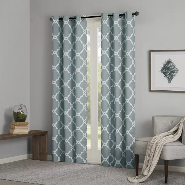Madison Grommet Window Curtain Panels