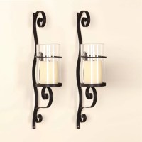 AdecoTrading Iron Wall Sconce Candle Holder & Reviews ...