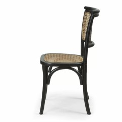 Dining Chairs With Caning High Gloss White Adecotrading Cane Side Chair Wayfair
